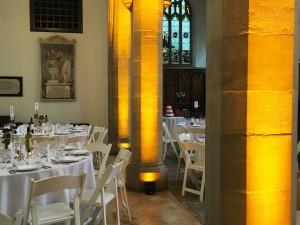 IMG 8669 Old Church DINING Area Pillars